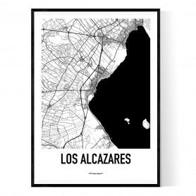 Los Alcazares Karta