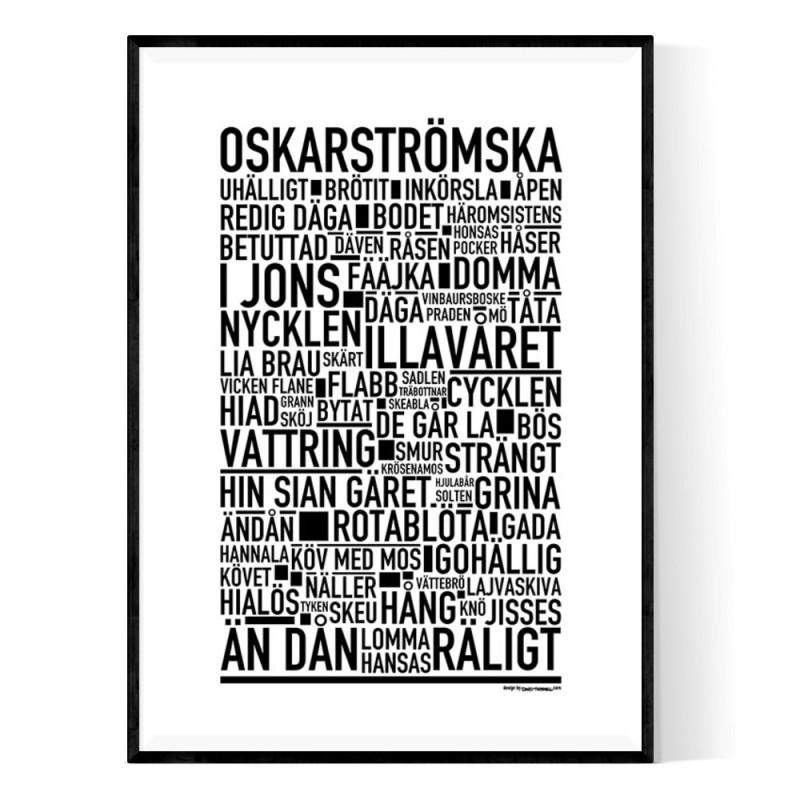Oskarströmska Poster