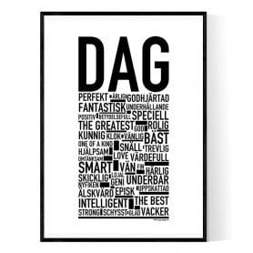 Dag Förnamn Poster