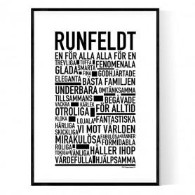 Runfeldt Poster