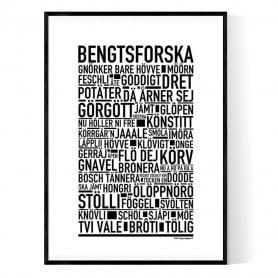 Bengtsforska Poster