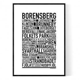 Borensberg Poster