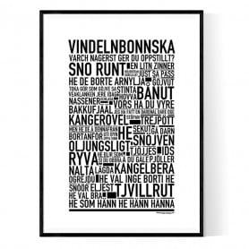 Vindelnbonnska Poster