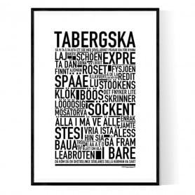 Tabergska Poster
