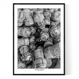 Champagne Brands Poster