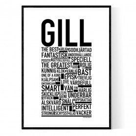 Gill Poster