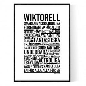 Wiktorell Poster
