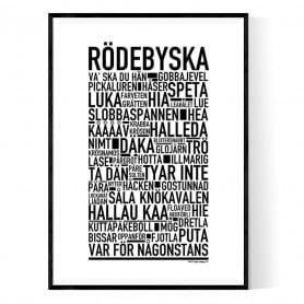 Rödebyska Poster