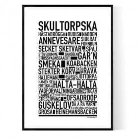 Skultorpska Poster