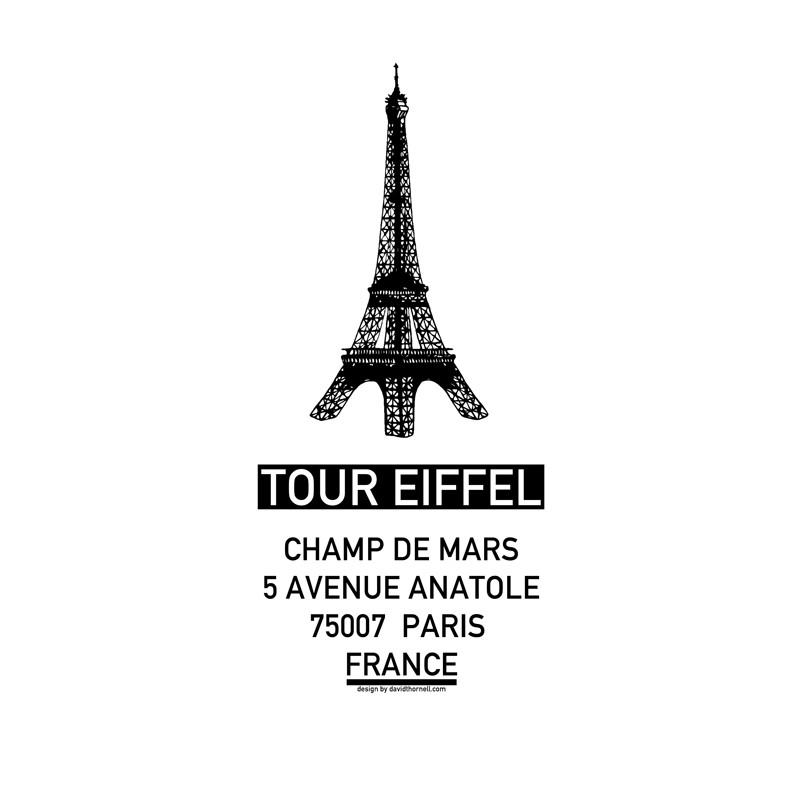 Tour eiffel poster hitta dina posters online hos wallstars - Poster tour eiffel ...