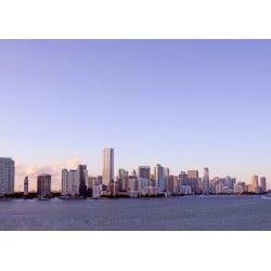 Biscayne Miami Skyline