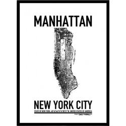 Manhattan Karta