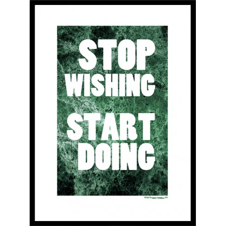 Start Doing Poster