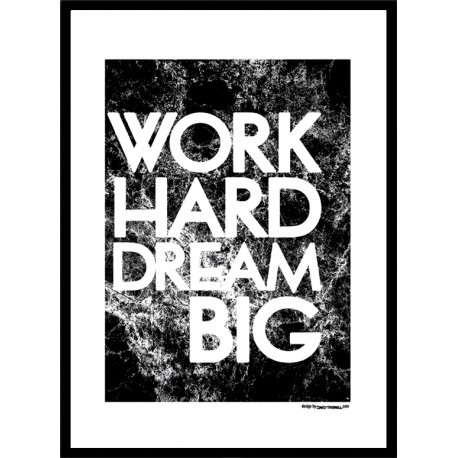 Work Hard Blk