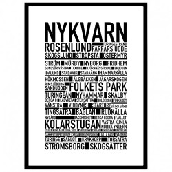 Nykvarn Poster