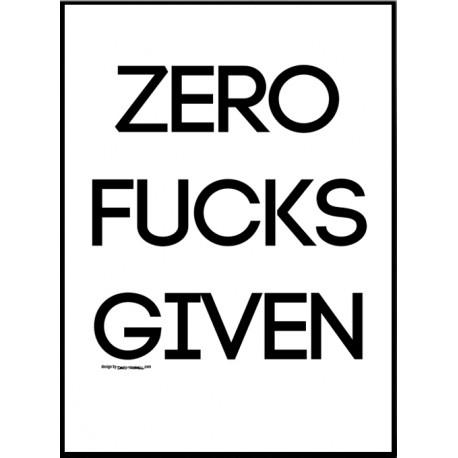 Zero F's Given