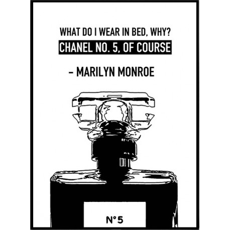 Chanel No. 5 Poster