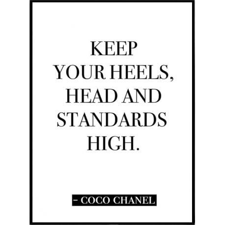 Chanel Citat Poster
