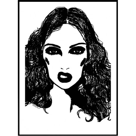 Lolita Face Poster