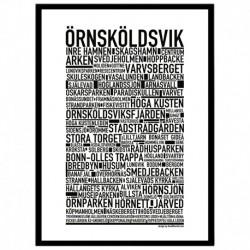Örnsköldsvik Poster