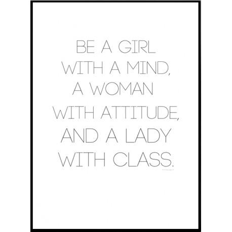 Girl Woman Lady