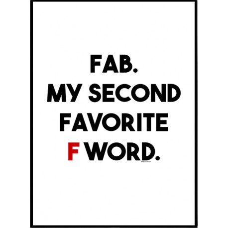 Fab F Poster