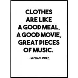 Michael Kors Poster