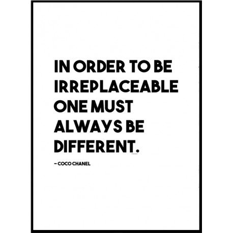 Irreplaceable Poster