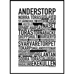 Anderstorp Poster