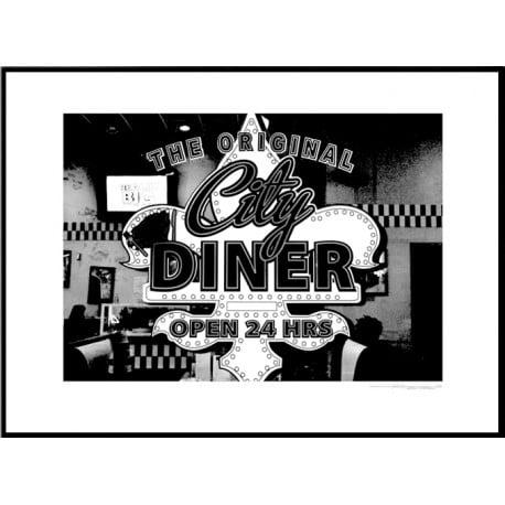 City Diner Poster