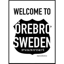 WT Örebro Poster