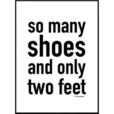Two Feet Poster