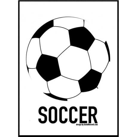 Fotboll Poster