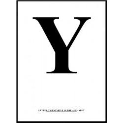 Alfabet Y Poster