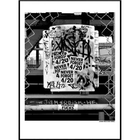 420 New York Poster