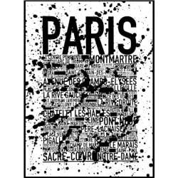 Paris Plash Poster