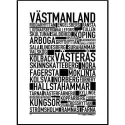 Västmanland Poster