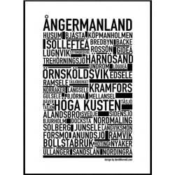 Ångermanland Poster