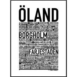 Öland Poster