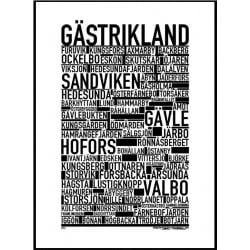 Gästrikland Poster