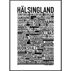 Hälsingland Poster