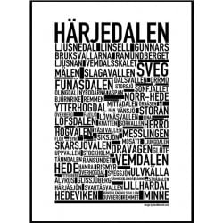 Härjedalen Poster