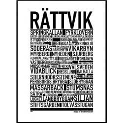 Rättvik Poster