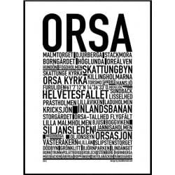 Orsa Poster