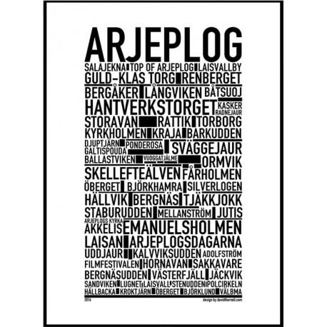 Arjeplog Poster