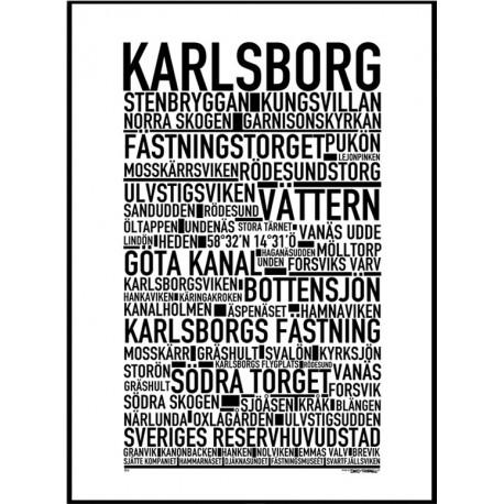 Karlsborg Poster