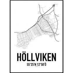 Höllviken Karta