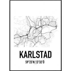 Karlstad Karta