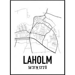 Laholm Karta