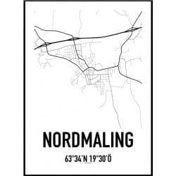 Nordmaling Karta